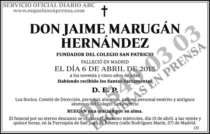 Jaime Marugán Hernández